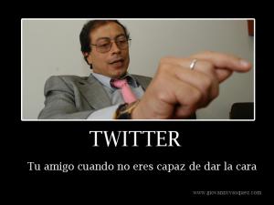 Twitter - Tu Amigo Cuando no eres capaz de dar la cara