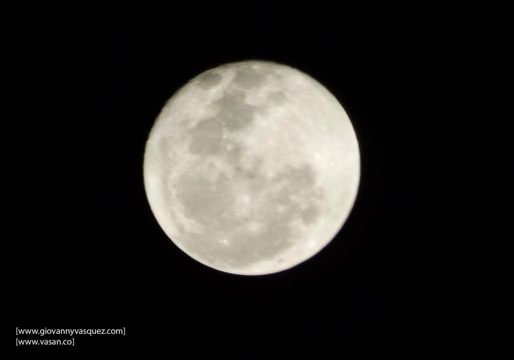 Foto de la Luna. Febrero 15 de 2014